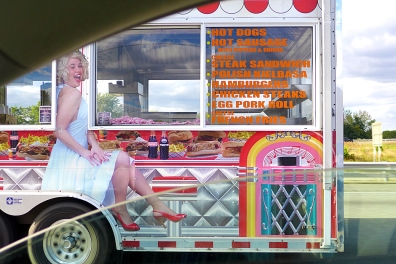 10.04.13 | hot sausage and marilyn monroe at 65 mph