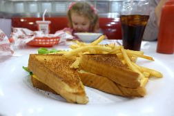 12.05.13   grilled cheese and fries