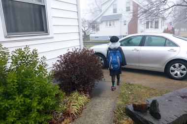 01.15.14   off to school with leonardo