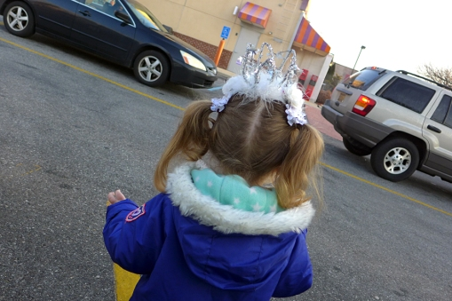 01.17.14   the queen of the dunkin donuts drive-thru