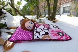 01.31.14   sofia in a sleeping bag