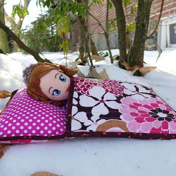 01.31.14 | sofia in a sleeping bag