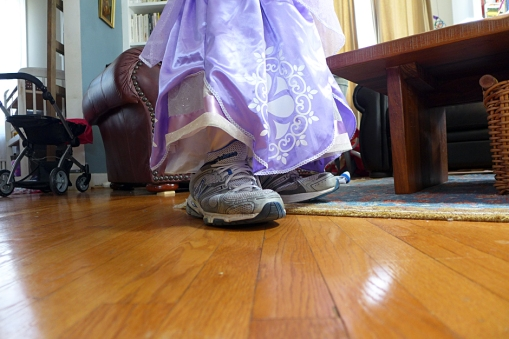 04.20.14   giant shoes and a fancy dress
