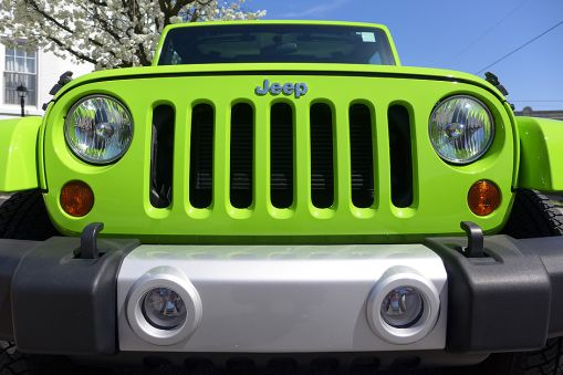 04.16.14 | bright green jeep