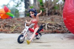 06.13.14 | snow white on a motorcycle
