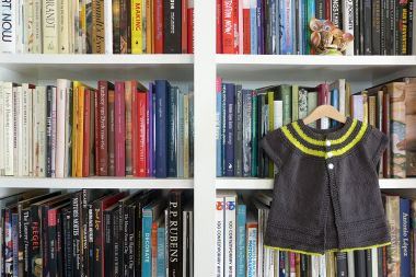 09.01.14 | art books and a hand knit sweater