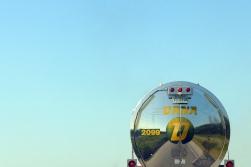 09.04.14   brake lights and blue sky