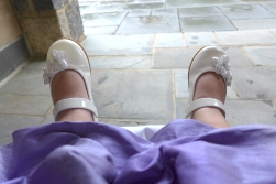09.06.14   little white shoes and a fancy dress
