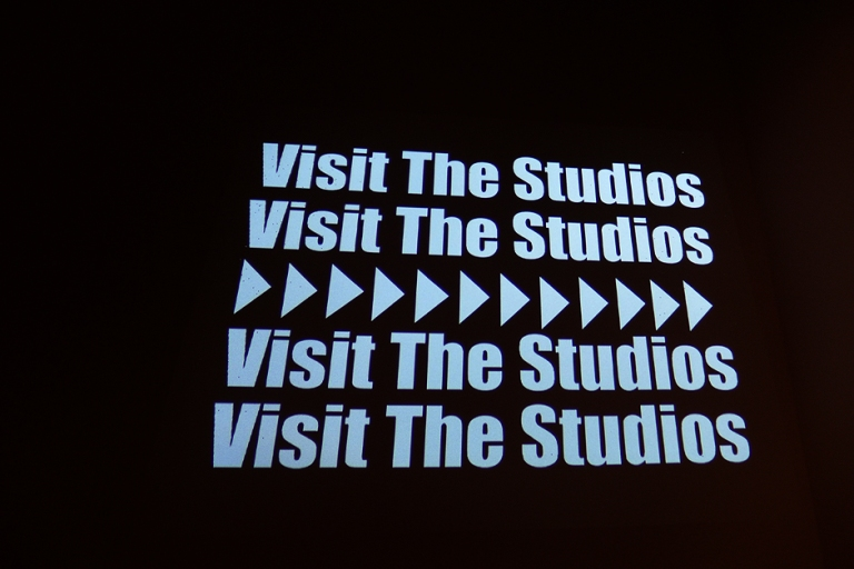 10.03.14   visit the studios