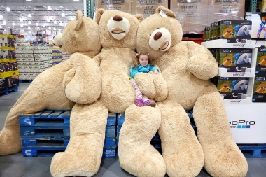 11.10.14   everything is bigger at costco