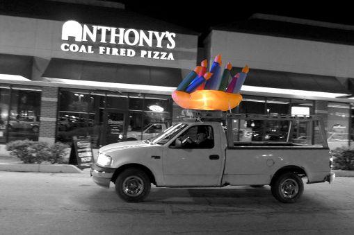 12.17.14 | inflatable menorah