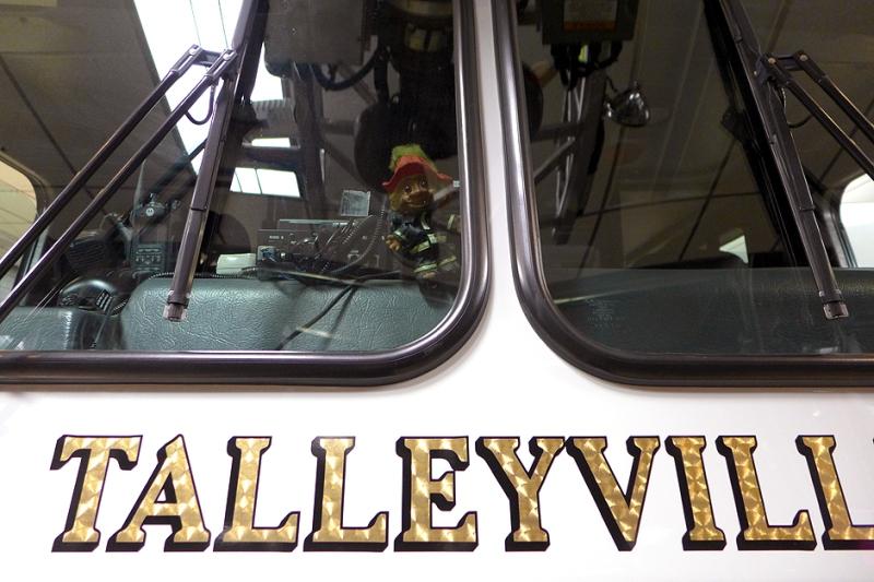 12.04.14   troll doll on the fire truck