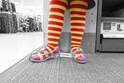 12.11.14   striped tights and glass slippers