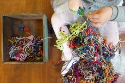 01.24.15 | thankful for yarn scraps