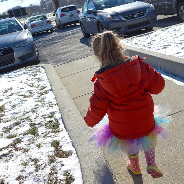 02.01.16 | tutu and a hand-me-down coat