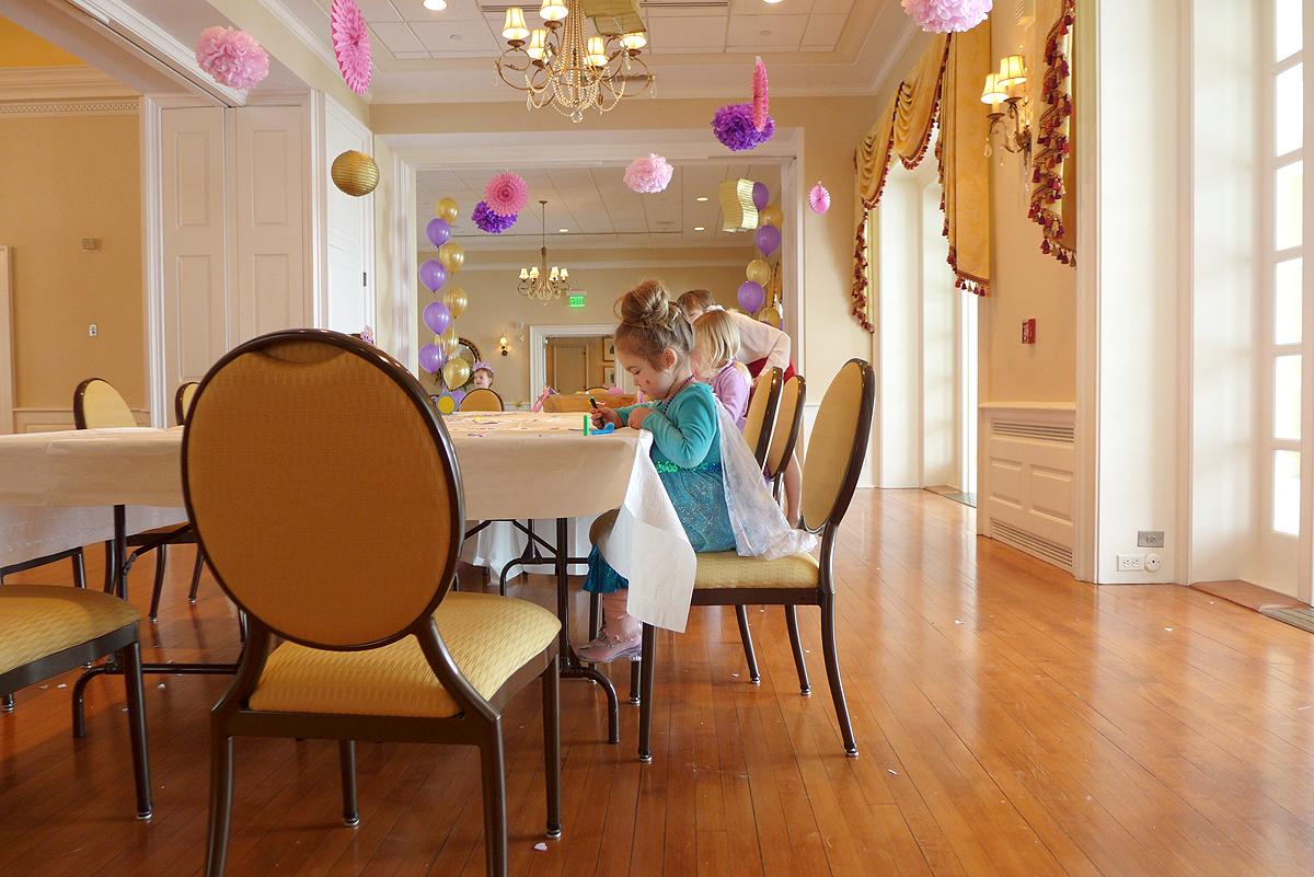 02.21.15 | princess at the craft table