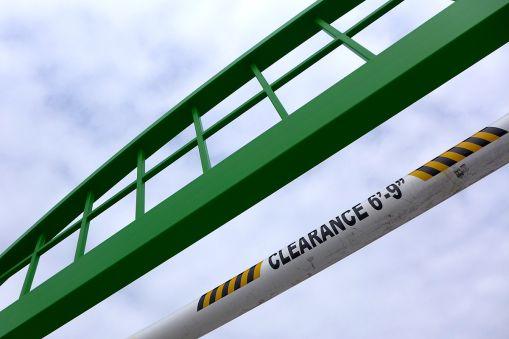 "02.26.15   clearance 6'-9"""