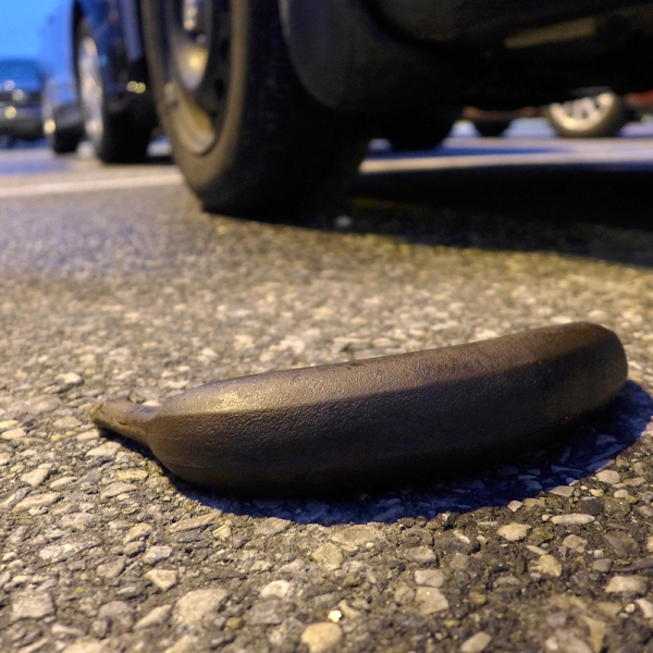 03.07.15 | black banana in a parking lot