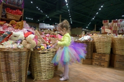 03.23.15   shopping in a tutu and glass slippers