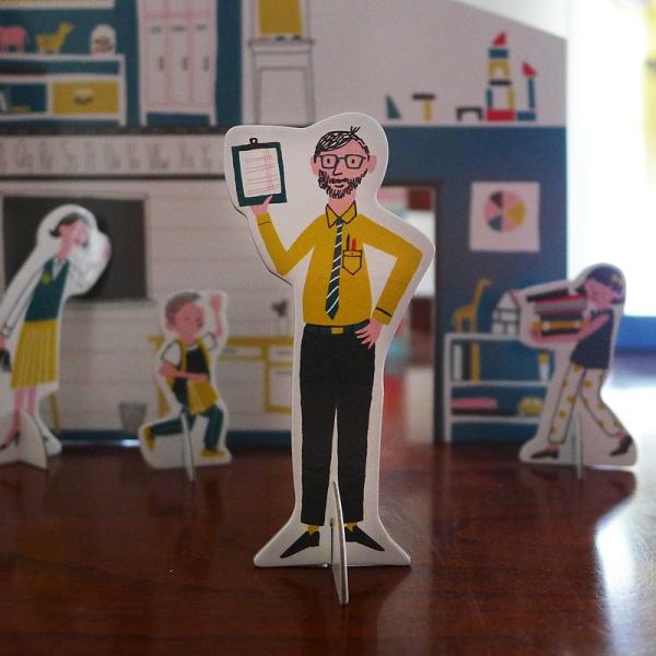 04.18.15 | cardboard teacher
