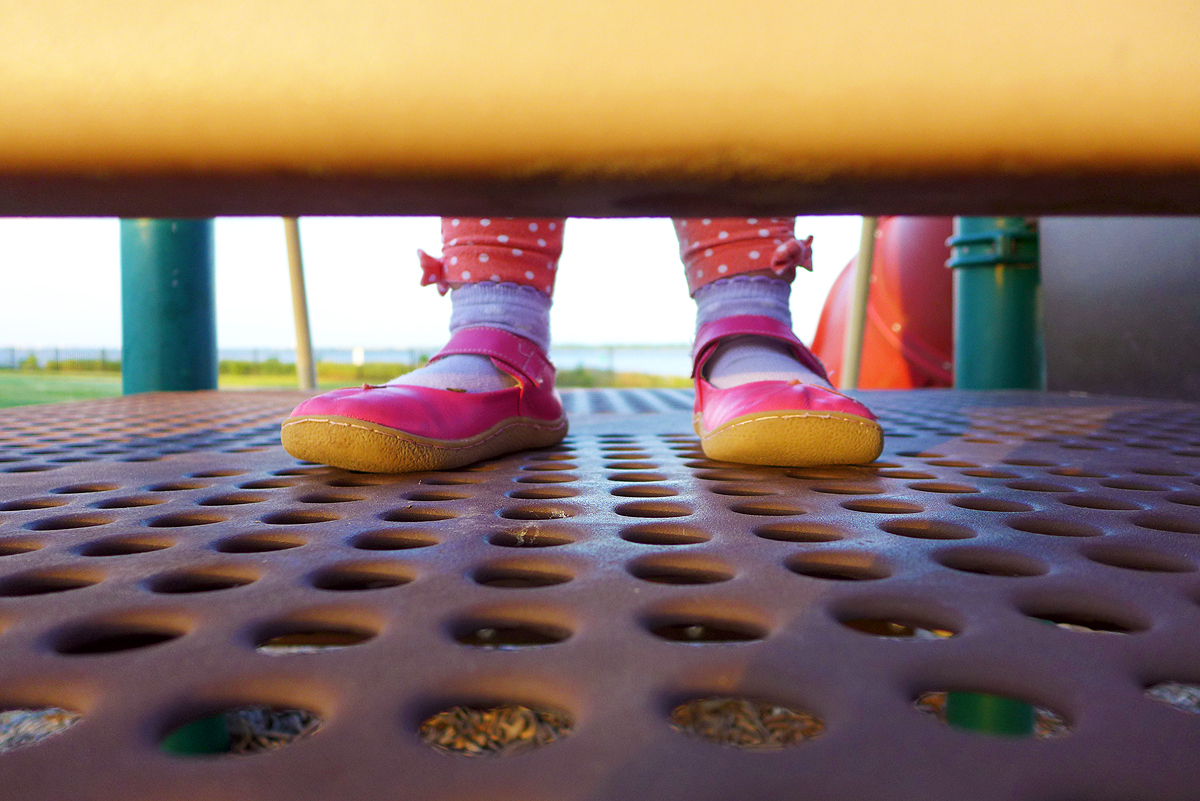 05.24.15   playground and pink shoes