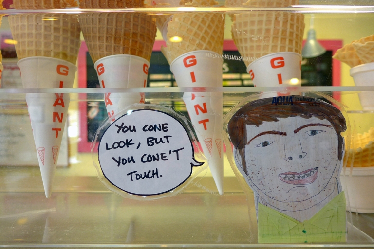 04.30.15 | you cone look, but you cone't touch