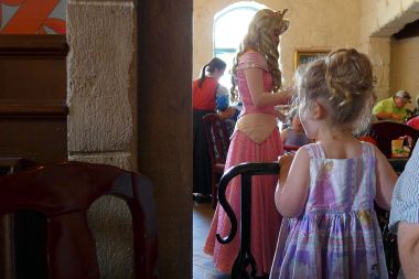 06.07.15 | day 1: princesses, chipmunks, a bear, and fast cars