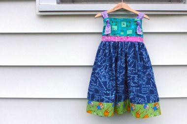 06.20.15 | i made an adventure time dress!