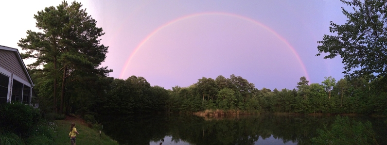 08.11.15 | panoramic double rainbow
