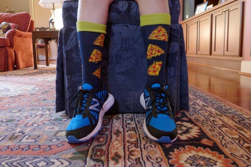 09.07.15   pizza socks and new sneakers