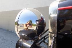 09.08.15 | self portrait in an old car headlight