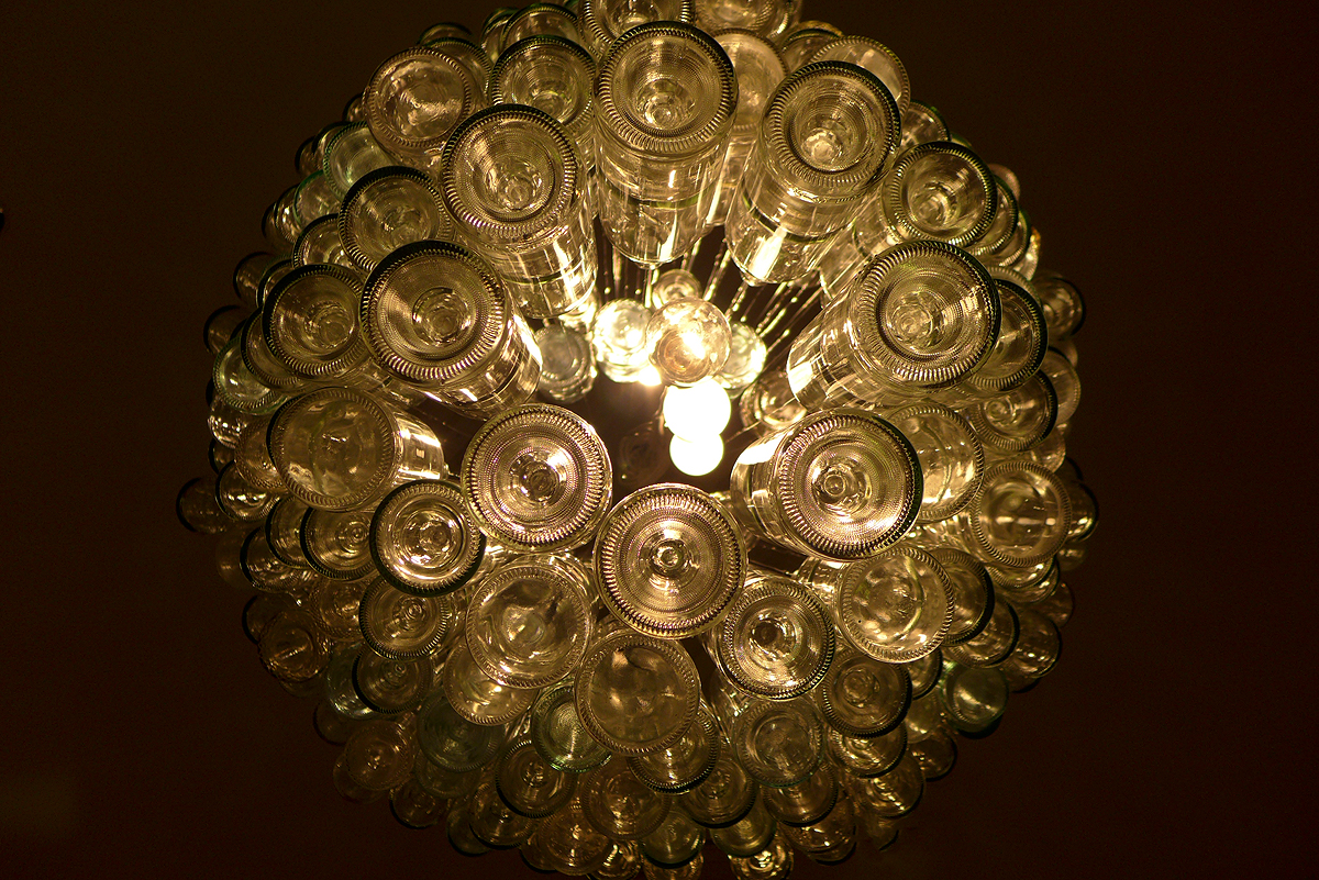 12.02.15 | bottle chandelier