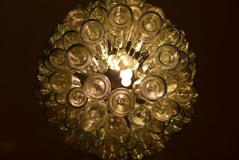 12.02.15 | bottle chandelier