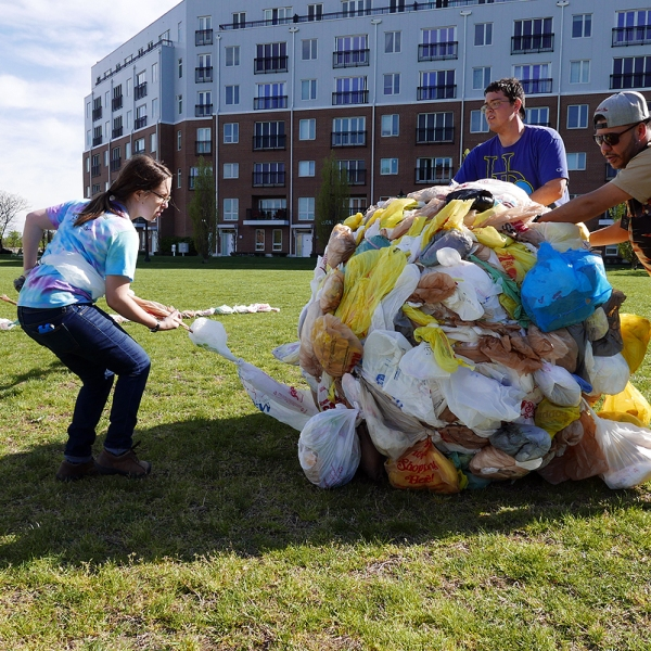 04.23.16 | world's largest plastic bag ball