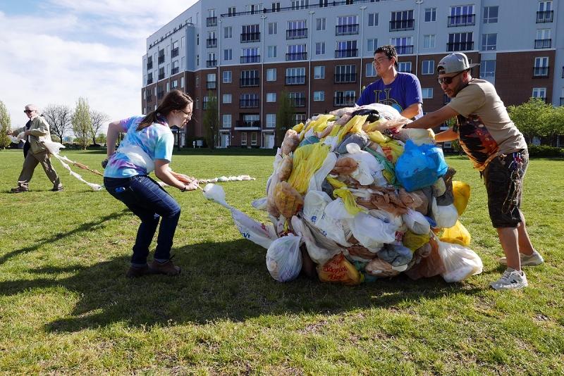 04.23.16 | world's largest plastic bag ball