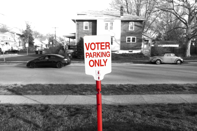 03.23.16 | voter parking only
