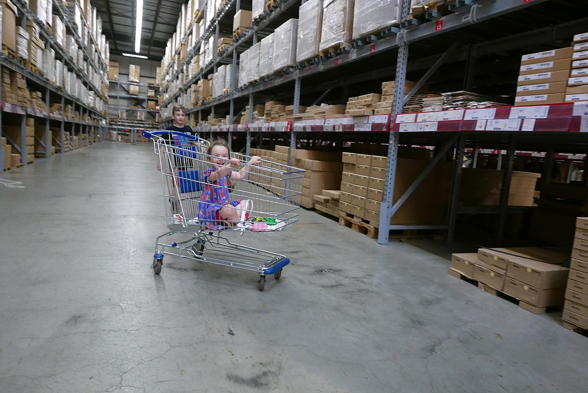 11.11.16 | ikea carts ftw!