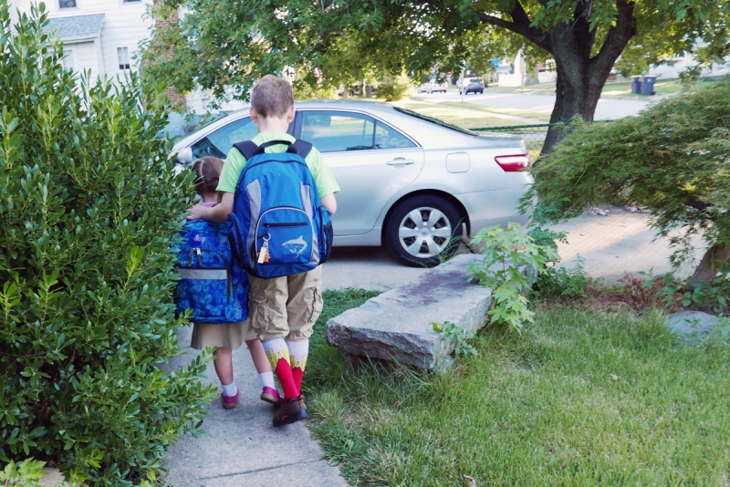 08.30.16 | first day of kindergarten
